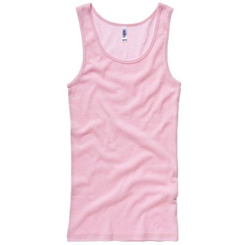 Bella Canvas Baby Rib Tank Top Pink M