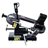 Kaka Industrial BS-85 110V-60HZ-1PH Metal Cutting Band Saw, Metal-Cutting Benchtop Bandsaw