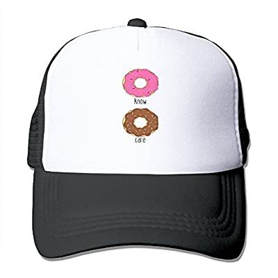 RETA Mesh Adjustable Cap Personalized Unisex Cool Customized I Donut Care Funny Trucker Hat Summer Hats