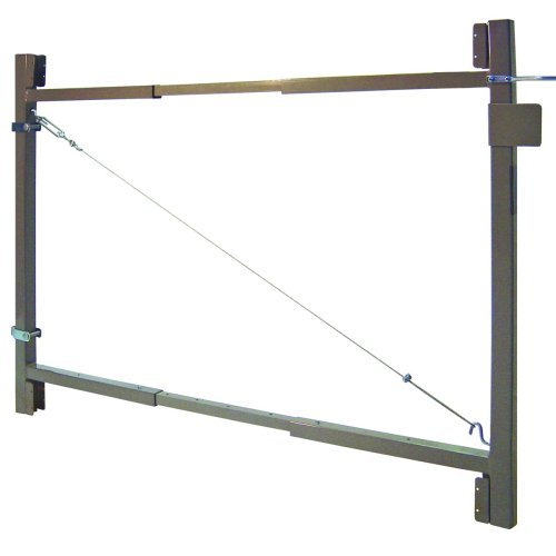 2 Rail Gate - Adjust-A-Gate AG 60-36 2-Rail Contractor Quality Gate Kit, 60-Inch to 96-Inch by 36-Inch Height by Adjust-A-Gate