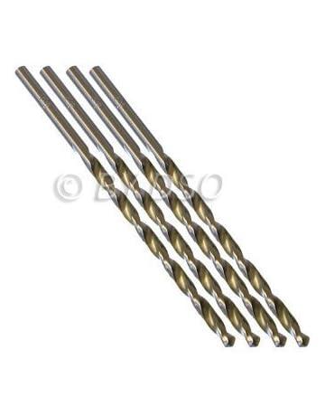 2 pièces 8 mm HSS 4241 Long Straight Shank Twist Drill Bits plastique métal /& bois