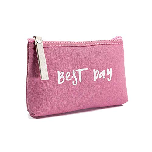 Candy Color Cosmetic Bag Women Letters Printed Cosmetic Bag Zipper Makeup Bags Handbag Ladies Makeup Pouch,A