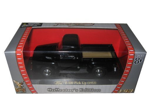 1953 Ford F-100 Pick Up Truck Black 1/43 by Yat Ming 94204 by Road Signature