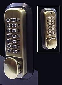 All Weather Double Keypad Mechanical Keyless Door Lock
