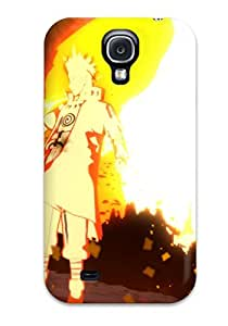 Ultra Slim Fit Hard MarvinDGarcia Case Cover Specially Made For Galaxy S4- Naruto Minato