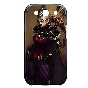 Vayne-002 League of Legends LoL case cover HTC One M7 Plastic Black