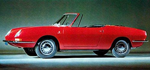 850 Fiat Spider (1966 Fiat 850 Spider Factory Photo)