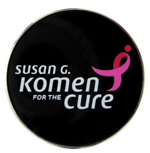 Susan G. Komen for the Cure Golf Ball Marker with Matching Hat Clip
