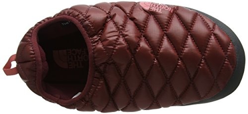 The North Face Thermoball Tent Iv, Mules Femme Rouge (Shiny Barolo Red/Faded Rose)