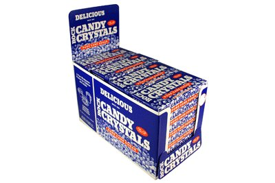 Rock Candy Loose White Crystals 24 - 2.5 oz Boxes ()