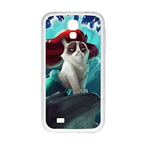 Red hair cat mermaid Cell Phone Case for Samsung Galaxy S4 BY icecream design