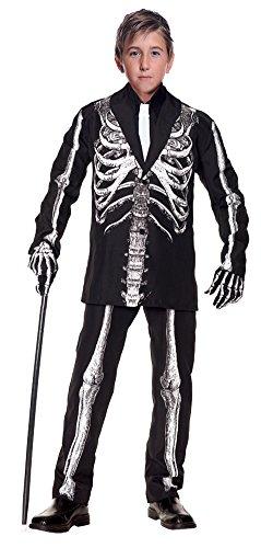 (DISC0UNTST0RE Boys - Bone Daddy Child Costume 4-6 Halloween Costume - Child)