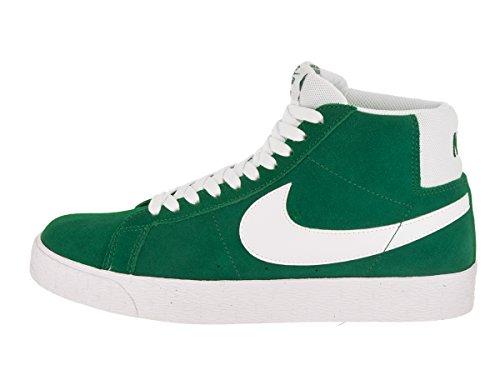new product a7fe3 1ab96 Nike Men's SB Zoom Blazer Mid Pine/Green/White Skate Shoe 5 ...