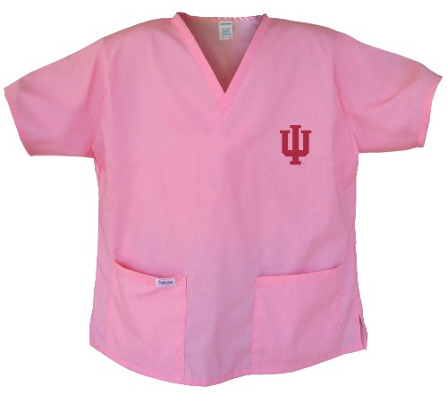 Ladies Indiana University Shirts IU Scrubs - Tops for Women