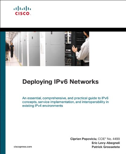 Download Deploying IPv6 Networks (Networking Technology) Pdf