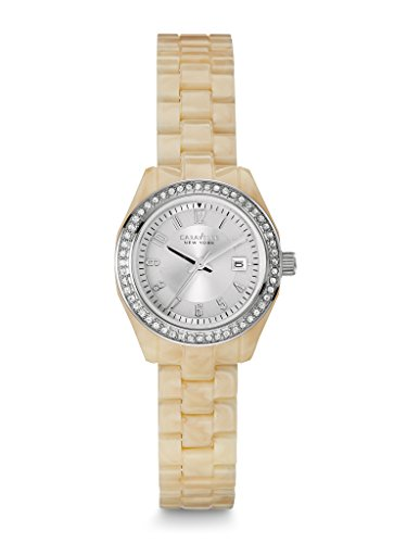 caravelle-new-york-womens-43m109-crystal-accented-stainless-steel-watch