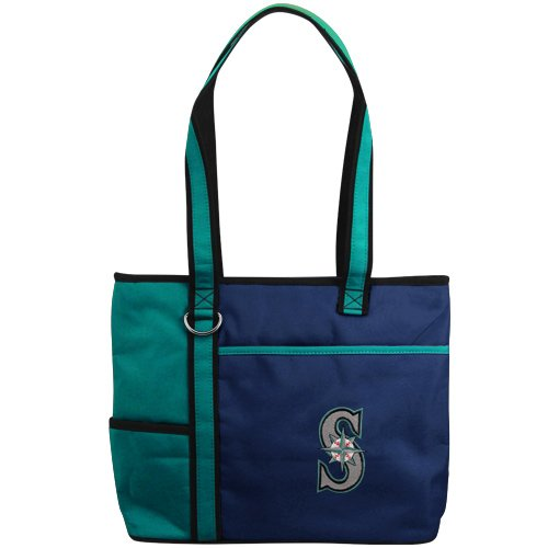 MLB Seattle Mariners Carry All Tote (Seattle Mariners Bag)