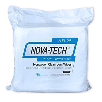 High Tech Conversions NT10 99 White Poly Cellulose Nova Tech Lint Free