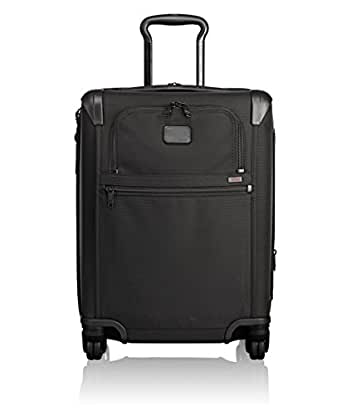 Tumi Alpha 2 Continental Expandable 4 Wheel Carry-On, Black, One Size