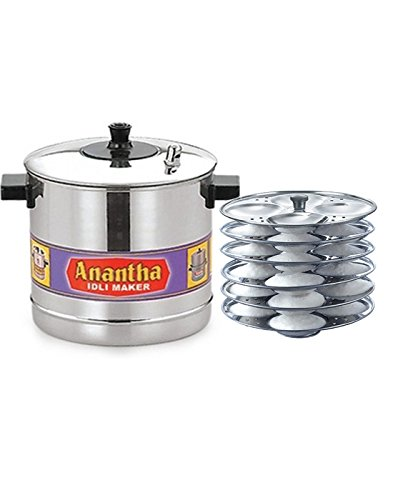 Anantha Aluminium 6-Plates Idly Maker
