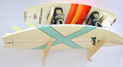 Surfboard Wakeboard Hanging Wall Rack -- 2 Boards by Pro Board Racks