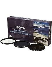 Hoya 77mm Digital Filter Kit With UV, Circular Polarizer, NDX8