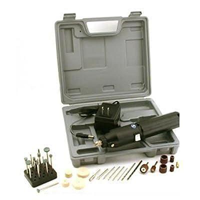 34pc Cordless Drill Kit Drilling Sanding Rotary Tools