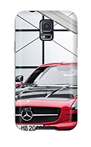 Jonathan Litt's Shop Best 5430148K95762138 Awesome Mercedes-benz Sls Amg Gt Flip Case With Fashion Design For Galaxy S5