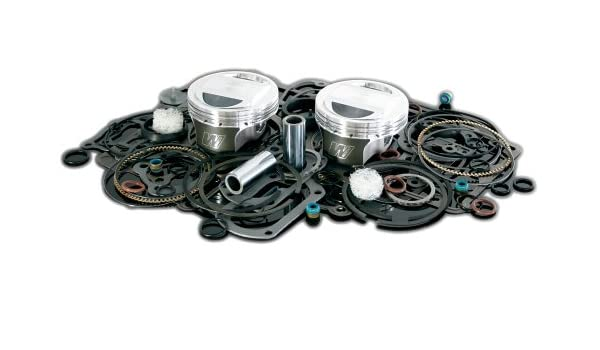 3.875 Bore 10.5:1 Compression Ratio Domed Forged Piston Kit with Top End Gasket VT2709 Wiseco