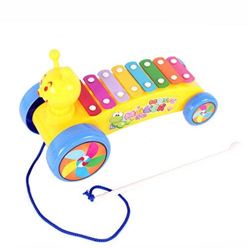 Leegor Lovely Caterpillar Puzzle Knock Jean Musical Instrument Birthday Present Kid Development Toy Christmas Gift