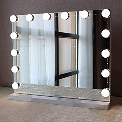 Vanity Mirror With Lights.Bwl Linkable Makeup Mirror Light Bulb Hollywood Style Led Vanity Mirror Lights Kit With 10 Dimmable Bulbs For Dressing Cosmetic Bathroom Mirror