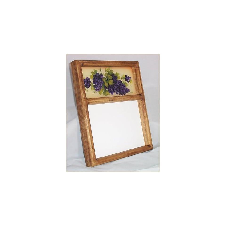 Erasable Memo Board Grape Tuscan Message Wall Decor New
