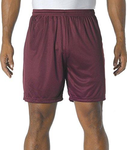 Bordeaux Homme A4 N5244 crd Shorts De Performance N5244 Rafraîchissants B8w7qBH6