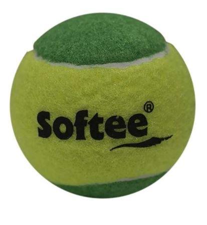 Softee pelotas de tenis Iniciación Verde pack 3: Amazon.es ...