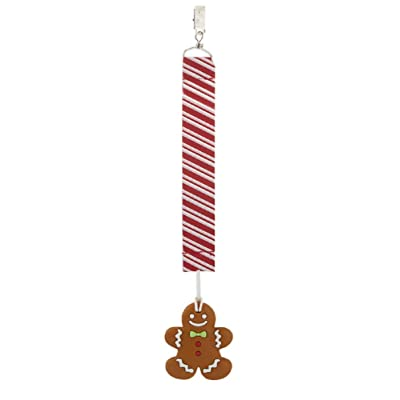 Ganz Gingerbread Silicone Teether Clip : Baby