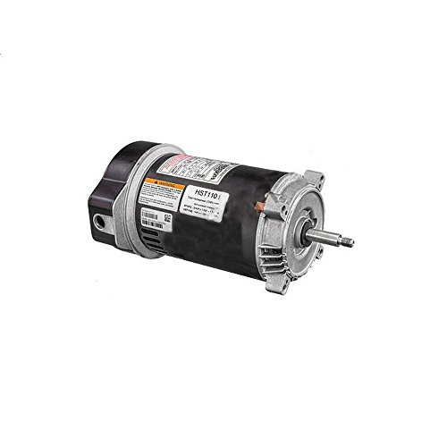 AO Smith/Century Electric Centurion PRO, Single Speed, 1.1HP, 3450RPM, 115/230V, 13.6/6.8 AMPS, 1SERVICE Factor, C-Face Flange