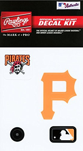 fan products of Rawlings Sporting Goods MLBDC Decal Kit, Pittsburgh Pirates
