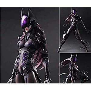 41dRwvesULL. SS300 Nostalie DC Comics Variant Play Arts Catwoman Tetsuya Nomura Action Figure Model Toys 27cm DM03