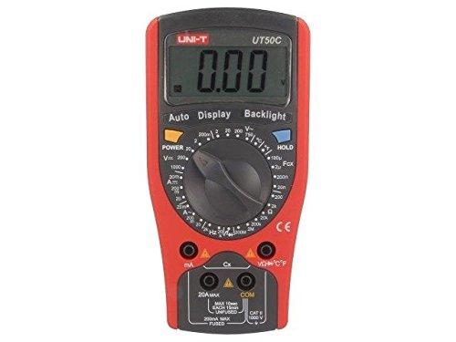 UT50C Digital multimeter LCD 3, 5 digit 1999 f range2k/20kHz UNI-T