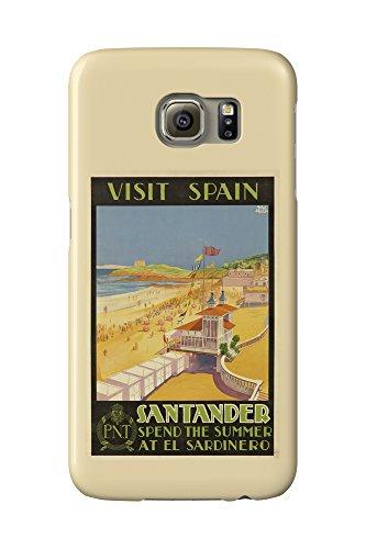 visit-spain-santander-vintage-poster-artist-baldrich-javier-c-1930-galaxy-s6-cell-phone-case-slim-ba