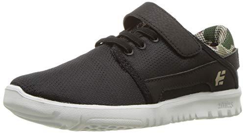 - Etnies Scout V Skate Shoe Black/camo 10C Medium US Big Kid