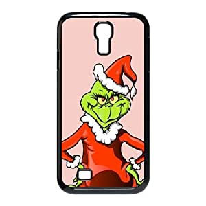 The Grinch Christmas Illustration Samsung Galaxy S4 9500 Cell Phone Case Black Exquisite gift (SA_637162)
