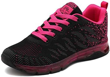 XIANGYANG Zapatos para Correr para Mujer, Zapatos para Correr Transpirables para Adolescentes Zapatillas Casuales Ligeras,Negro,41: Amazon.es: Hogar