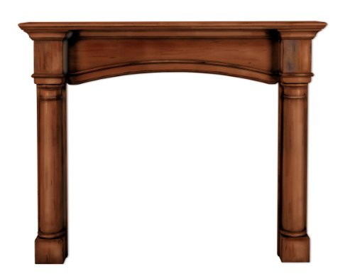 Pearl Mantels 159-48-70 Princeton Fireplace Mantel Surround, 48-Inch, Cherry Finish by Pearl Mantels