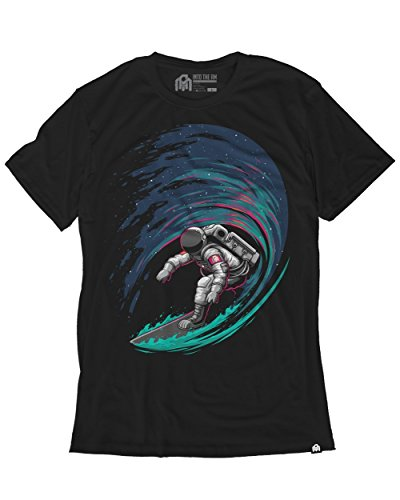 INTO THE AM Star Surfer Men's Graphic Tee Shirt (Medium) (All Star Mens T-shirt)