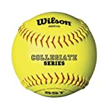 Official NCAA Championship Yellow Softballs from Wilson - Case of 3 Dozen