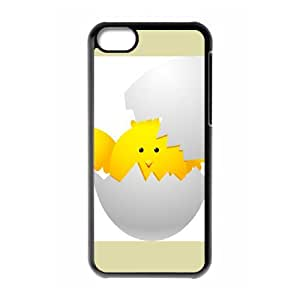 iPhone 5C Phone Case, With Interesting Eggs Image On The Back - Colourful Store Designed