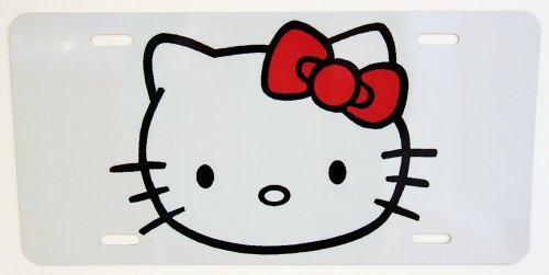 hello kitty car tag - 4