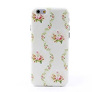 Sparkling Style Litchi Grain Hard Back Case for iPhone 6