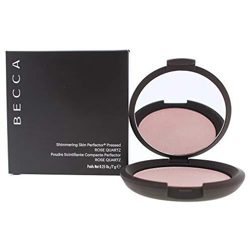 Becca Shimmering Skin Perfector Pressed Highlighter, Rose Quartz, 0.28 Ounce